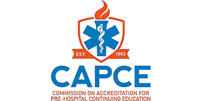 Commission on Accreditation For Pre-Hospital Continuing Education logo