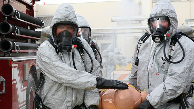 image of training in Technical Emergency Response Training for CBRNE Incidents