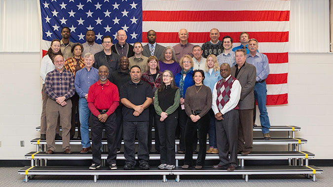 Forty five FEMA employees attended the first FEMA Incident Workforce Academy (FIWA)