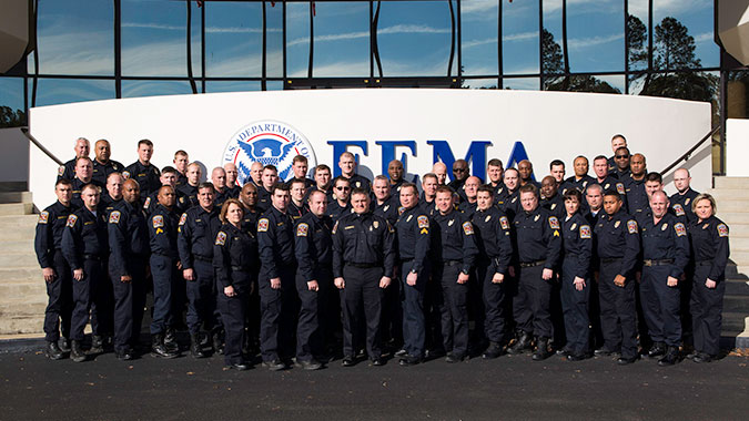Alabama State Troopers attended training at FEMA's Center for Domestic Preparedness (CDP)