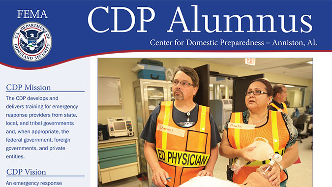 CDP Alumnus Issue 12 cover