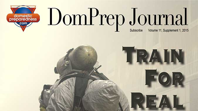 DomPrep Journal: Train for Real Life