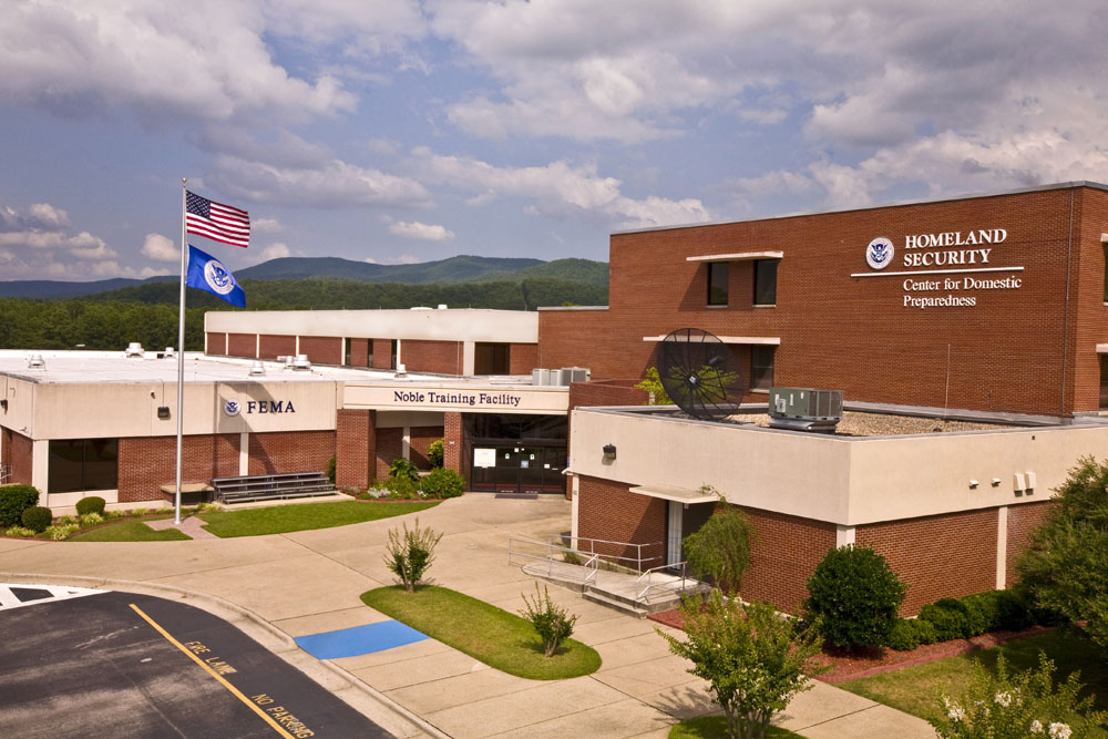 The Center for Domestic  Preparedness (CDP) opened its doors in June 1998, as a training center for the nation's emergency responders.  Responders from all 50 states, the District of Columbia, and the U.S. territories have trained at the CDP.  CDP training focuses on incident management, mass casualty response, and emergency response to a catastrophic natural disaster or terrorist act. CDP training for state, local, and tribal responders is fully funded by FEMA, a component of the U.S. Department of Homeland Security. Round-trip air and ground transportation, lodging, and meals are provided at no cost to responders or their agency. To learn more about the Center for Domestic Preparedness, visit http://cdp.dhs.gov or call 866-213-9553.  Photo by Shannon Arledge CDP/FEMA